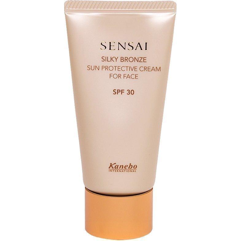 Sensai Silky Bronze Sun Protective Cream For Face SPF30 50ml
