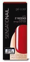 Sensationail Gel Polish Scarlet Red