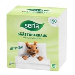 Serla Nenäliina Säästöpakkaus 150 Kpl