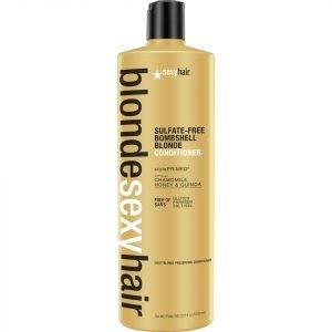 Sexy Hair Blonde Bombshell Blonde Conditioner 1000 Ml