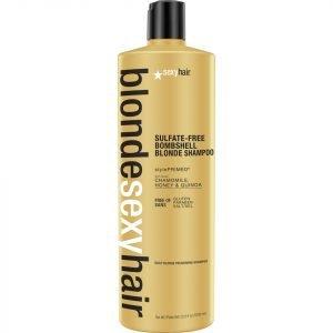 Sexy Hair Blonde Bombshell Blonde Shampoo 1000 Ml