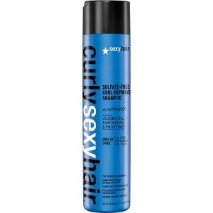 Sexy Hair Curly Curl Defining Shampoo 300 Ml