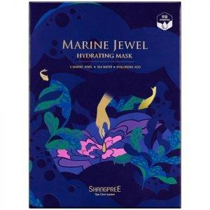 Shangpree Marine Jewel Hydrating Mask 30 Ml Set Of 5