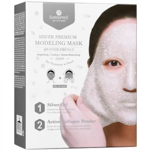 Shangpree Silver Premium Modeling Mask With Bowl And Spatula 50 Ml