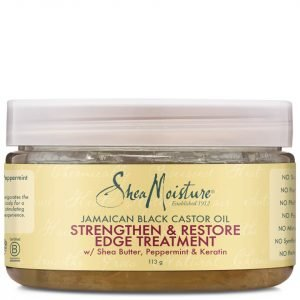 Shea Moisture Jamaican Black Castor Oil Strengthen & Restore Edge Treatment 113 G
