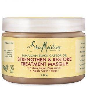Shea Moisture Jamaican Black Castor Oil Strengthen & Restore Treatment Masque 340 G