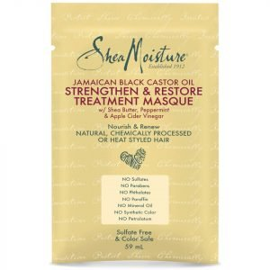 Shea Moisture Jamaican Black Castor Oil Treatment Masque Sachet 59 Ml