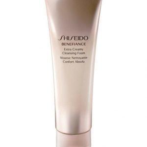 Shiseido Benefiance Extra Creamy Cleansing Foam Puhdistusaine 125 ml