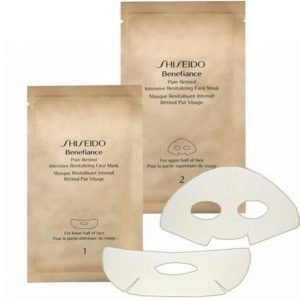 Shiseido Benefiance Pure Retinol Intensive Revitalizing Face Mask Naamio