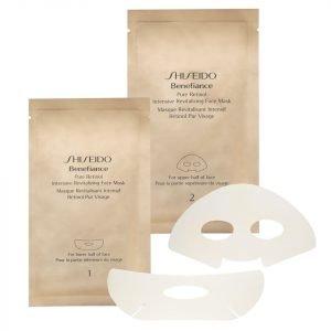 Shiseido Benefiance Pure Retinol Intensive Revitalizing Face Mask X 4 Sachets