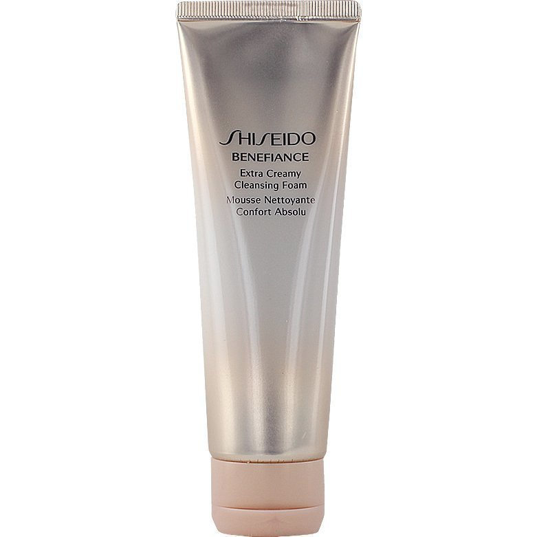 Shiseido Benefiance Wrinkle Resist 24 Extra Creamy Cleansing Foam 125ml
