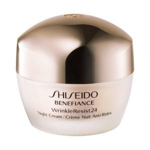Shiseido Benefiance Wrinkle Resist24 Night Cream Yövoide 50 ml
