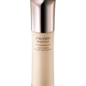 Shiseido Benefiance Wrinkle Resist24 Night Emulsion Yöemulsio 75 ml