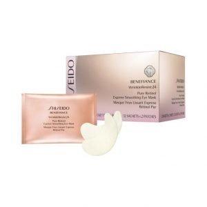 Shiseido Benefiance Wrinkle Resist24 Pure Retinol Eye Mask Silmänympärysnaamio 12 kpl