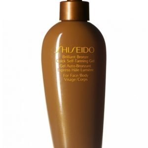 Shiseido Brilliant Bronze S T Gel Itseruskettava