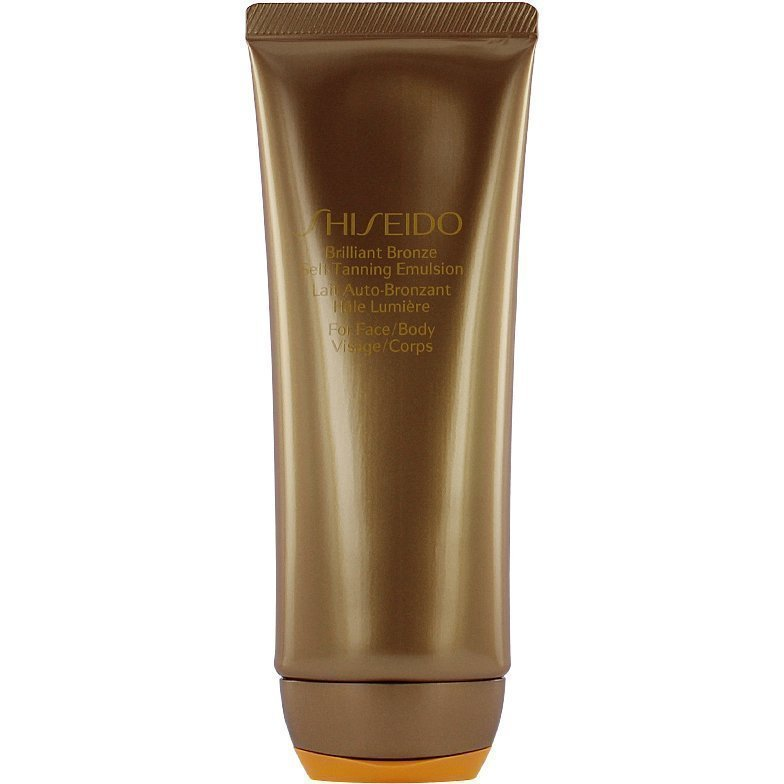 Shiseido Brilliant Bronze Self-Tanning Emulsion For Body And Face 100ml
