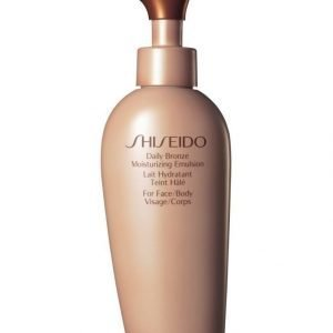 Shiseido Daily Bronze Moisturizing Emulsion Emulsiovoide 150 ml