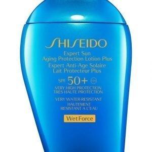 Shiseido Expert Sun Aging Protection Lotion Spf 50 Aurinkosuoja 100 ml