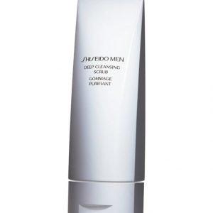 Shiseido Men Deep Cleansing Scrub Kuoriva Puhdistusaine 125 ml