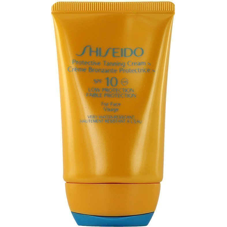Shiseido Protective Tanning Cream SPF10 For Face 50ml
