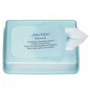 Shiseido Pureness Refreshing Cleansing Sheets Puhdistusliina