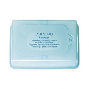 Shiseido Pureness Refreshing Cleansing Sheets Puhdistusliinat 30 kpl