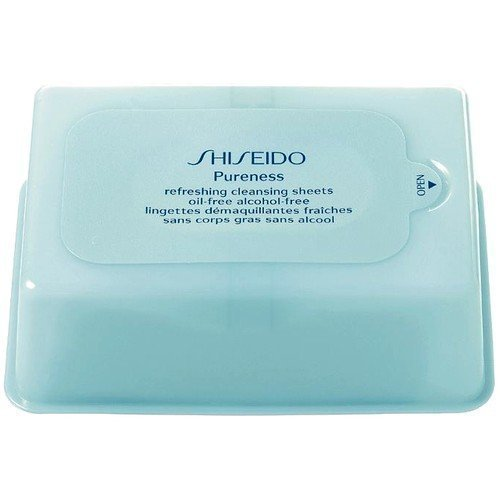 Shiseido Pureness Refreshing Cleansing Sheets