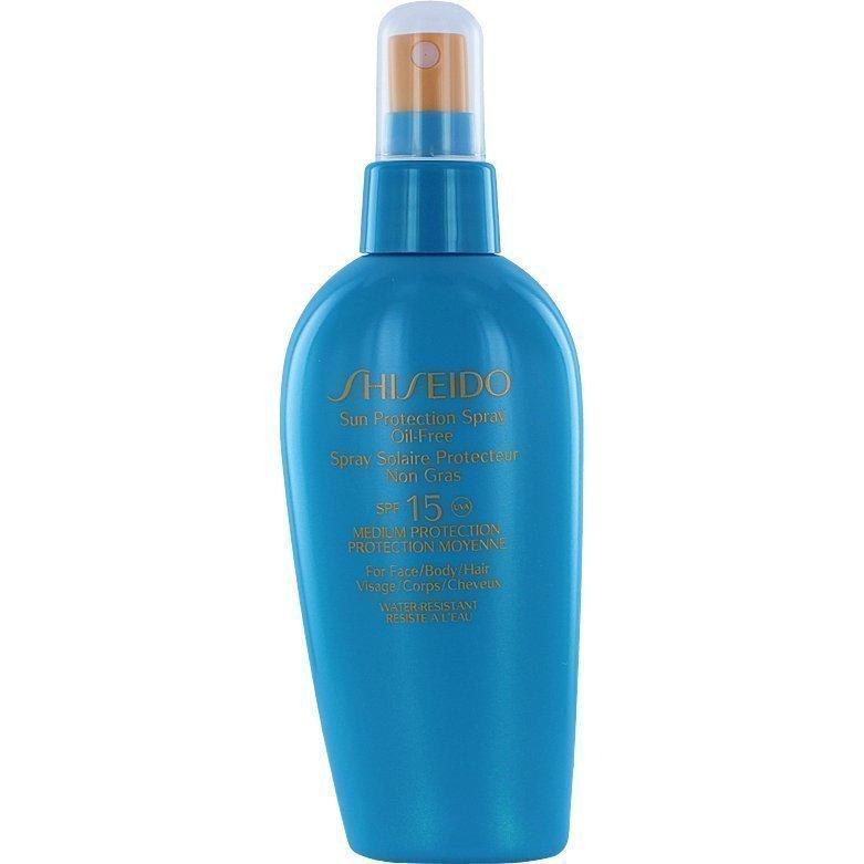 Shiseido Sun Protection Spray SPF15 Oil Free 150ml