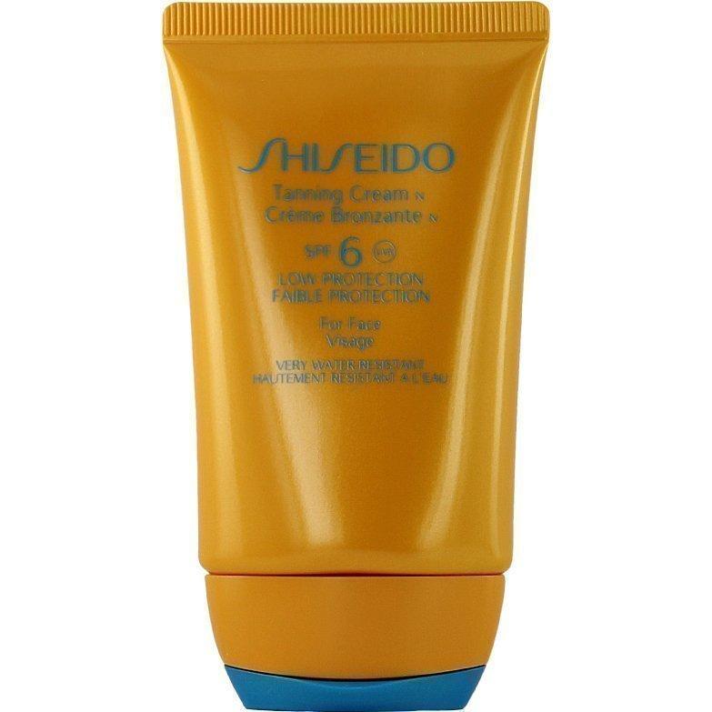 Shiseido Sun Tanning Cream SPF6 For Face 50ml