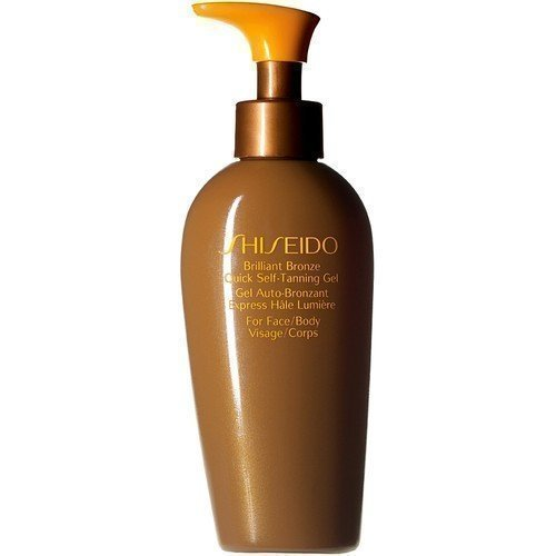 Shiseido Suncare Brilliant Bronze Quick Self-Tanning Gel for Face & Body