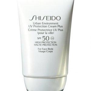 Shiseido Urban Environment Uv Protective Cream Plus Spf 50 Aurinkosuoja 50 ml