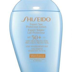 Shiseido Wet Force Expert Sun Protection Lotion Spf50 Aurinkosuoja 100 ml