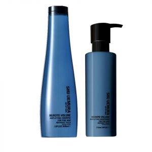 Shu Uemura Art Of Hair Muroto Volume Pure Lightness Shampoo 300 Ml And Conditioner 250 Ml