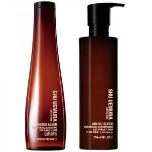 Shu Uemura Art Of Hair Shusu Sleek Shampoo 300 Ml And Conditioner 250 Ml