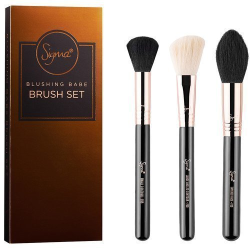 Sigma Copper Belle Blushing Babe Brush Set