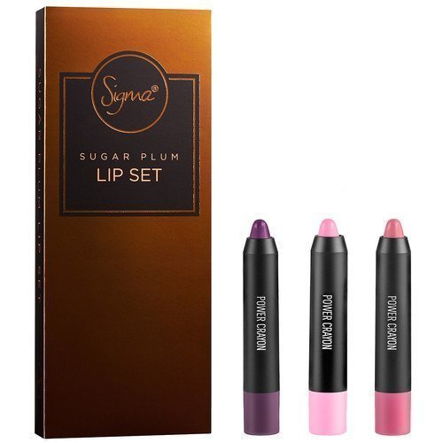 Sigma Copper Belle Sugar Plum Lip Set