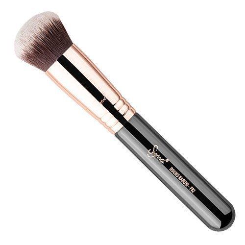 Sigma Round Kabuki Brush Copper F82
