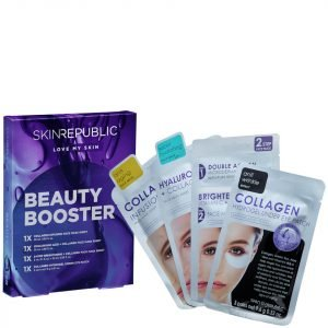 Skin Republic Beauty Booster Gift Set 4 Piece Including 1 Free Mask