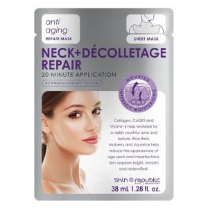 Skin Republic Neck And Décolletage Repair Mask 38 Ml