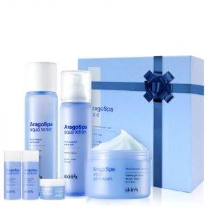 Skin79 Aragospa Aqua Skin Care Six Piece Set