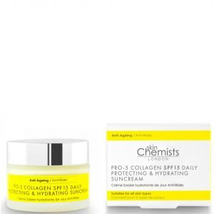 Skinchemists London Pro-5 Collagen Spf15 Daily Anti-Ageing Protecting And Hydrating Sun Cream 50 Ml
