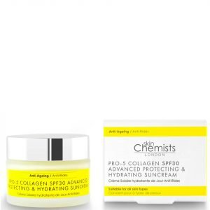 Skinchemists London Pro-5 Collagen Spf30 Advanced Anti-Ageing Protecting And Hydrating Sun Cream 50 Ml