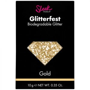 Sleek Makeup Glitterfest Biodegradable Glitter Gold 10 G