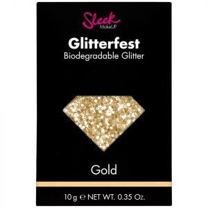 Sleek Makeup Glitterfest Biodegradable Glitter Gold 10 G