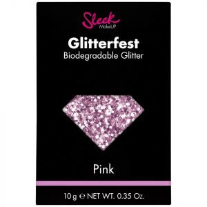 Sleek Makeup Glitterfest Biodegradable Glitter Pink 10 G