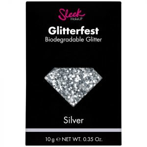 Sleek Makeup Glitterfest Biodegradable Glitter Silver 10 G