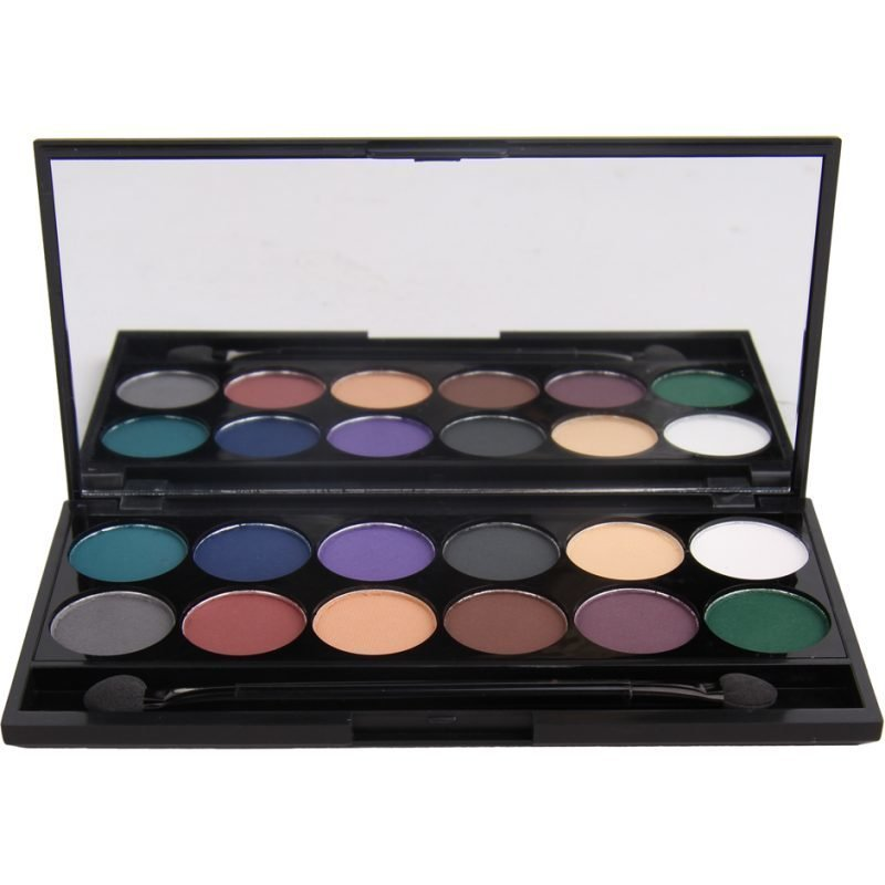 Sleek Makeup i-Divine Mineral Based Eyeshadow Palette Ultra Mattes V2 Darks