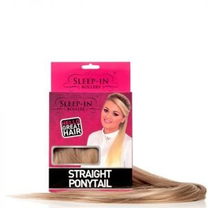 Sleep In Rollers Straight Ponytail Various Shades Auburn