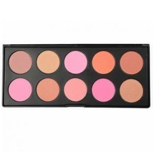 Smashit 10 Color Blush Palette 67 G Poskipuna