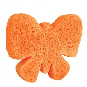 Spongellé Body Wash Infused Sponge Animals Butterfly